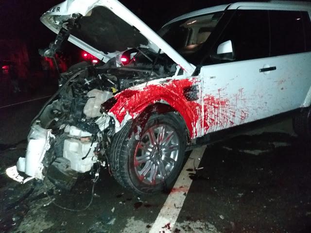 Duas pessoas morreram em acidente na BR-460 provocada por bovino em Lambari, MG 2